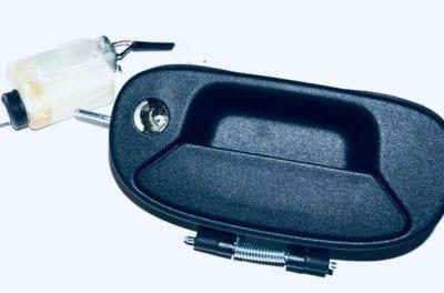 Klamka drzwi tylnych, opuszczanych klapy Fiat Doblo po roku 2000 Parts4van dostawcze częsci
