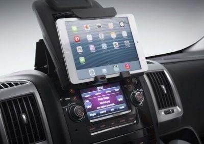 notatnik moduł podstawka uchwyt na Ipada tablet telefon notatnik Fiat Ducato po 2006 oryginał