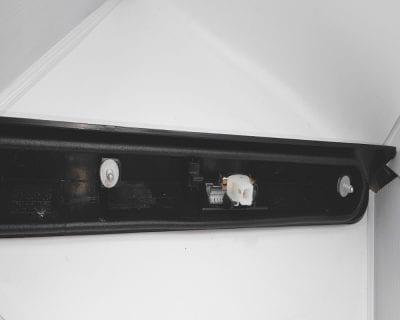 lampa tablicy rejestracyjnej