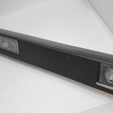 Lampa tylna tablicy rejestracyjnej Peugeot Boxer 2006 oryginał 735430904