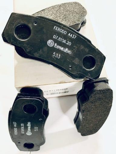 Klocki hamulcowe tył Fiat Ducato po 1996 roku oryginał parts4van