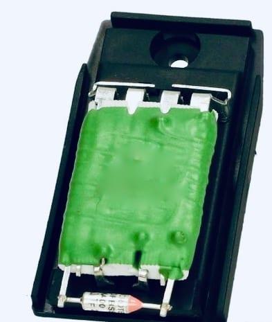 Opornik, rezystor wentylatora nagrzewnicy Ford Connect 2002 - 2012 fast ft59208