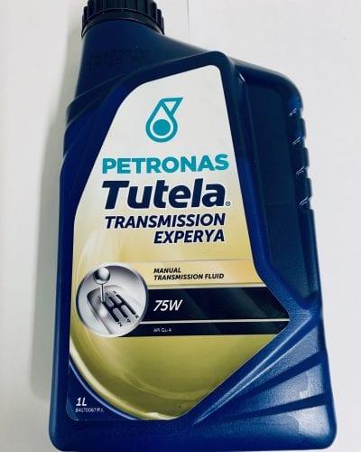 Olej przekładniowy Tutela Car Experya 75W 1L Petronas Fiat, Iveco