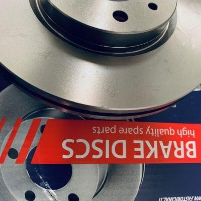Tarcza hamulcowa wentylowana przód Peugeot Bipper parts4van