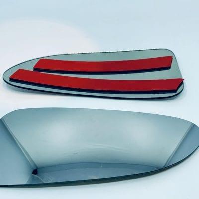 Wkład szkło szybka lusterka bocznego Renault Master dolna parts4van