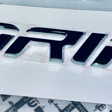 Znak modelu, logo napis - Fiat Fiorino po 201652043106