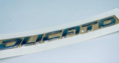 znak modelu fiat ducato Znak, logo, emblemat do Fiat ducato na przedni błotnik- oryginał