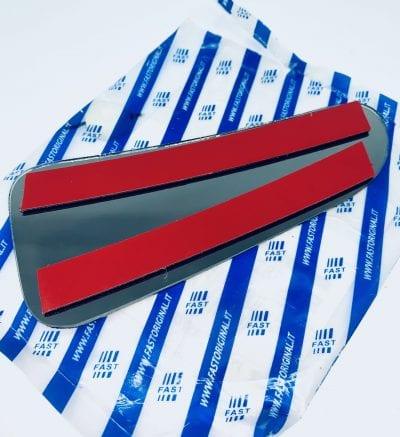 Szybka szkło wkład lusterka dolny Turneo Custom po 2012 parts4van
