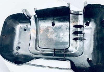 Obudowa nakładka lusterka długiego z wysięgnikiem Citroen Jumper po 2006 parts4van