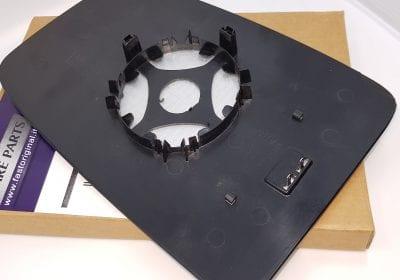 Szybka szkło wkład lusterka duża górna Renault Master po 2010 roku parts4van