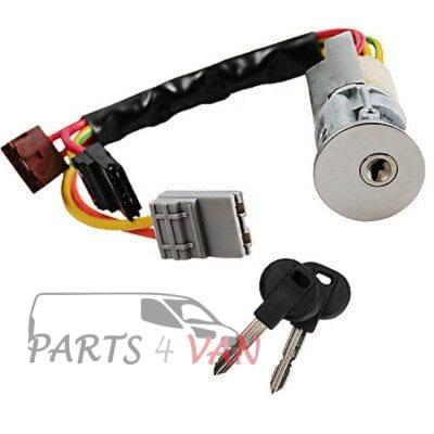 Stacyjka z wkładką i kluczykami Citroen Berlingo Peugeot Partner parts4van