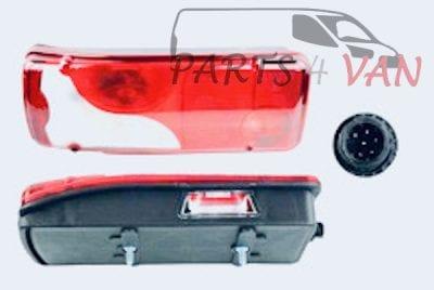Lampa tylna skrzynia truck zabudowa Mercedes Sprinter FT86433