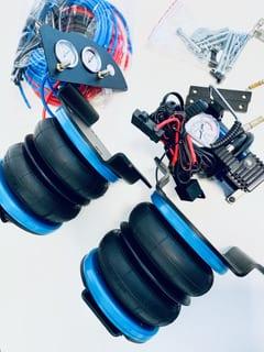 Poduszki powietrzne zawieszenia tył Fiat Ducato MTT System - zestaw